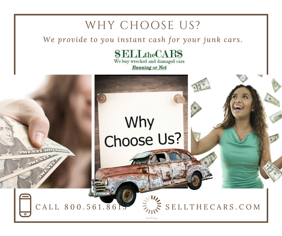Best Place for Selling wrecked, damaged or junk Cars,USA | Sell The Cars
